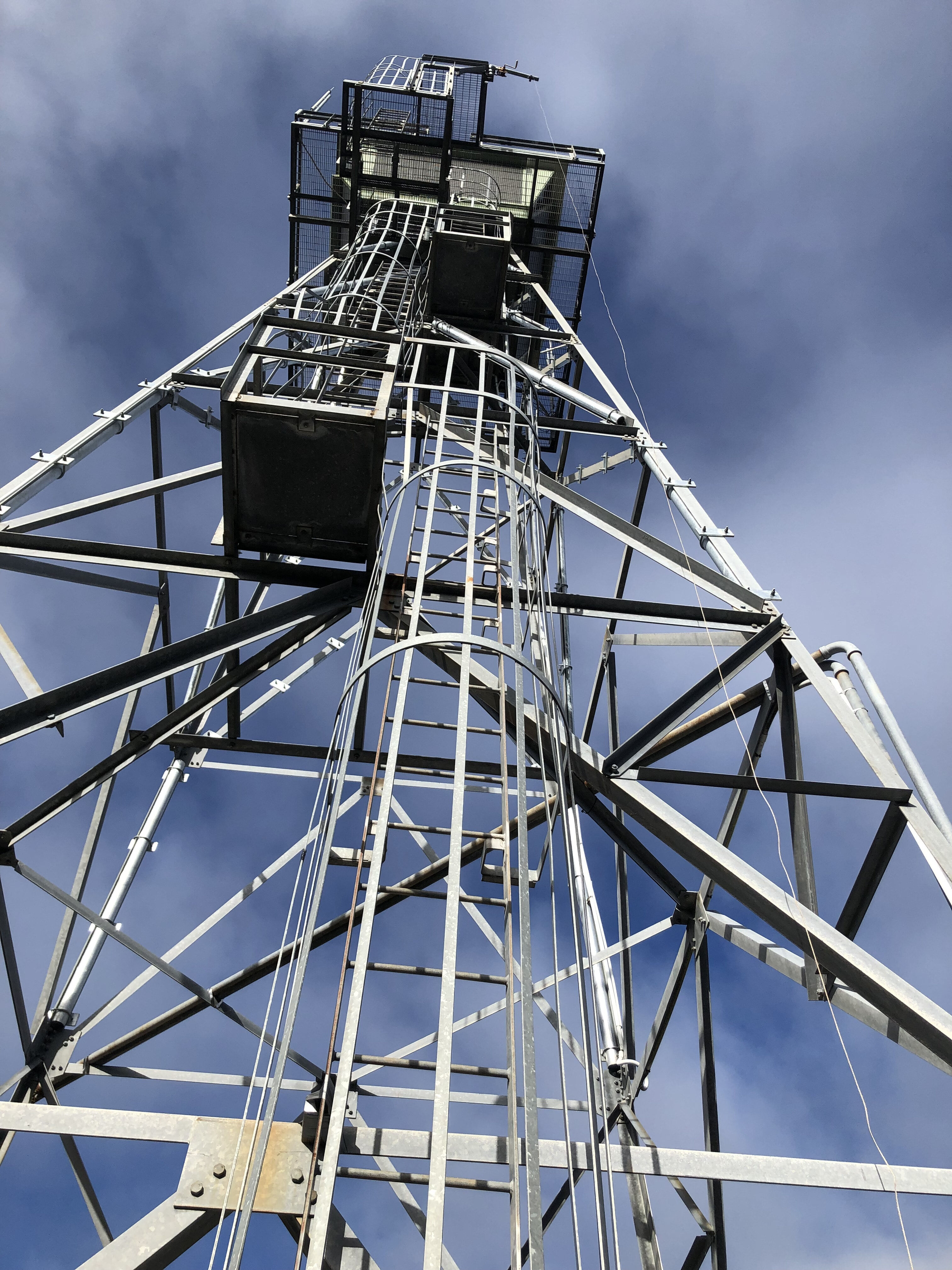 Mt Blackwarry Fire Tower Strengthing for DELWP 2