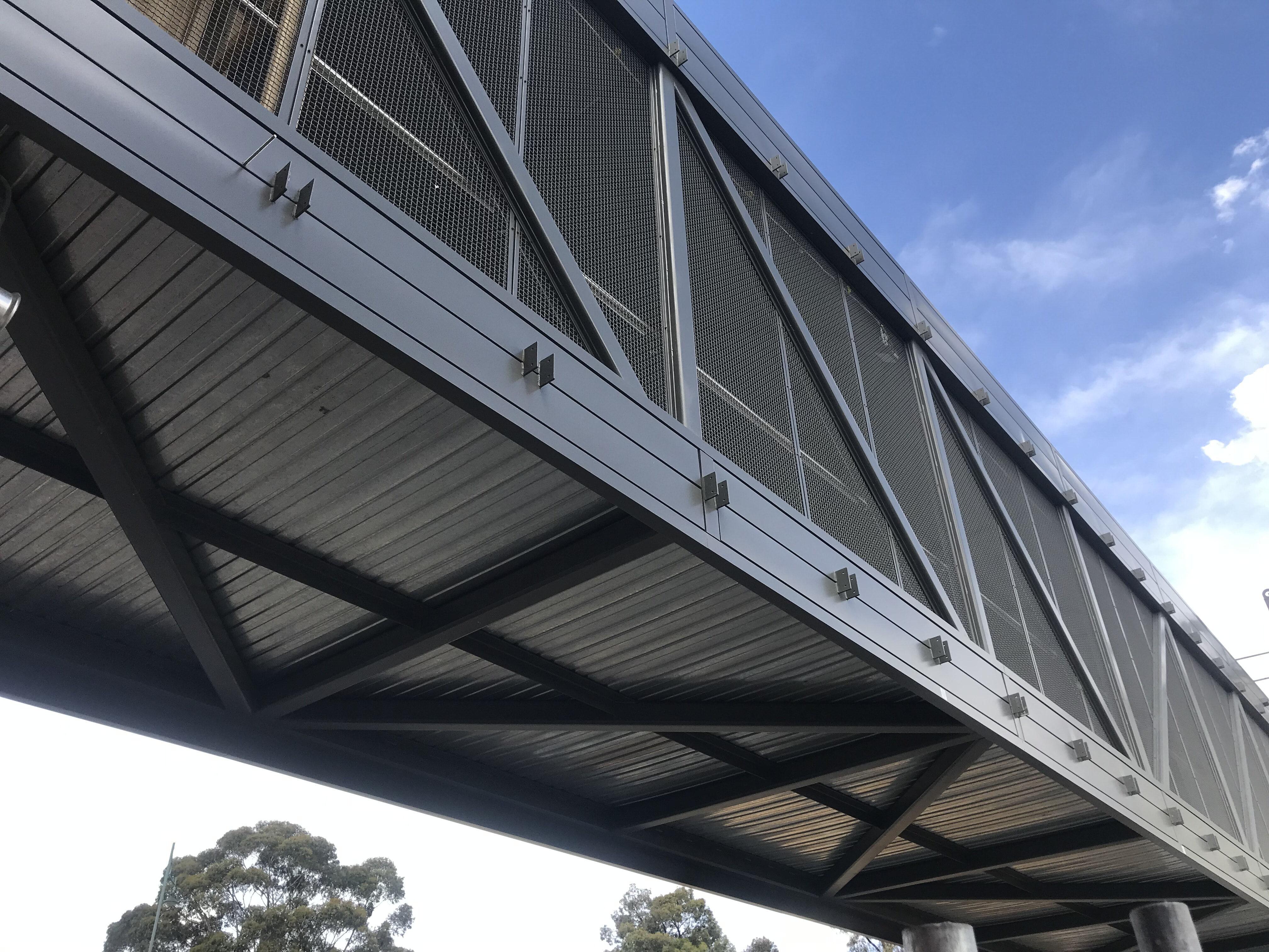 Bendigo station footbridge 3