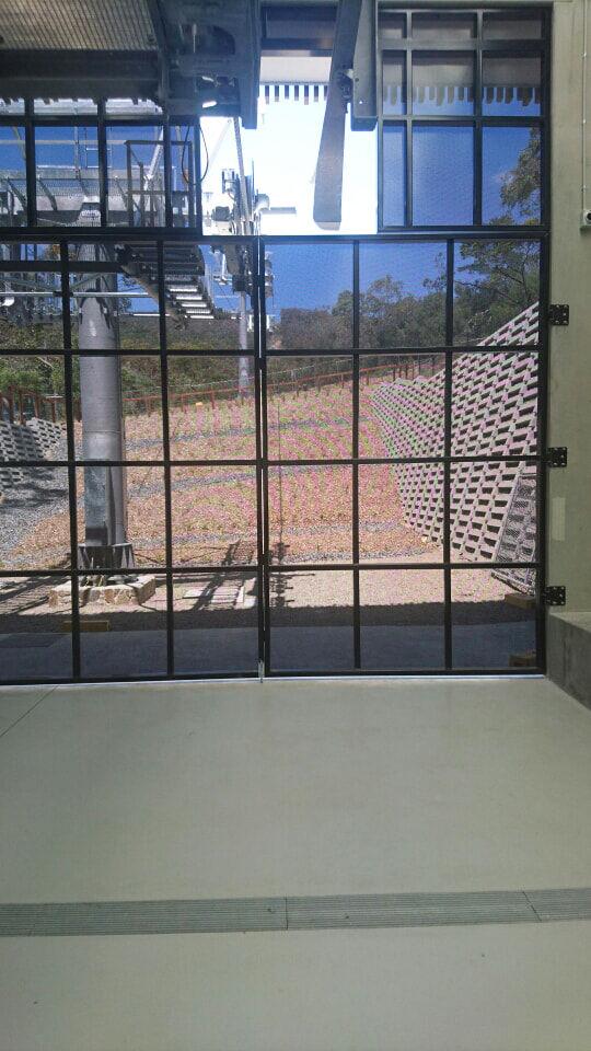 Construction Steel mesh doors