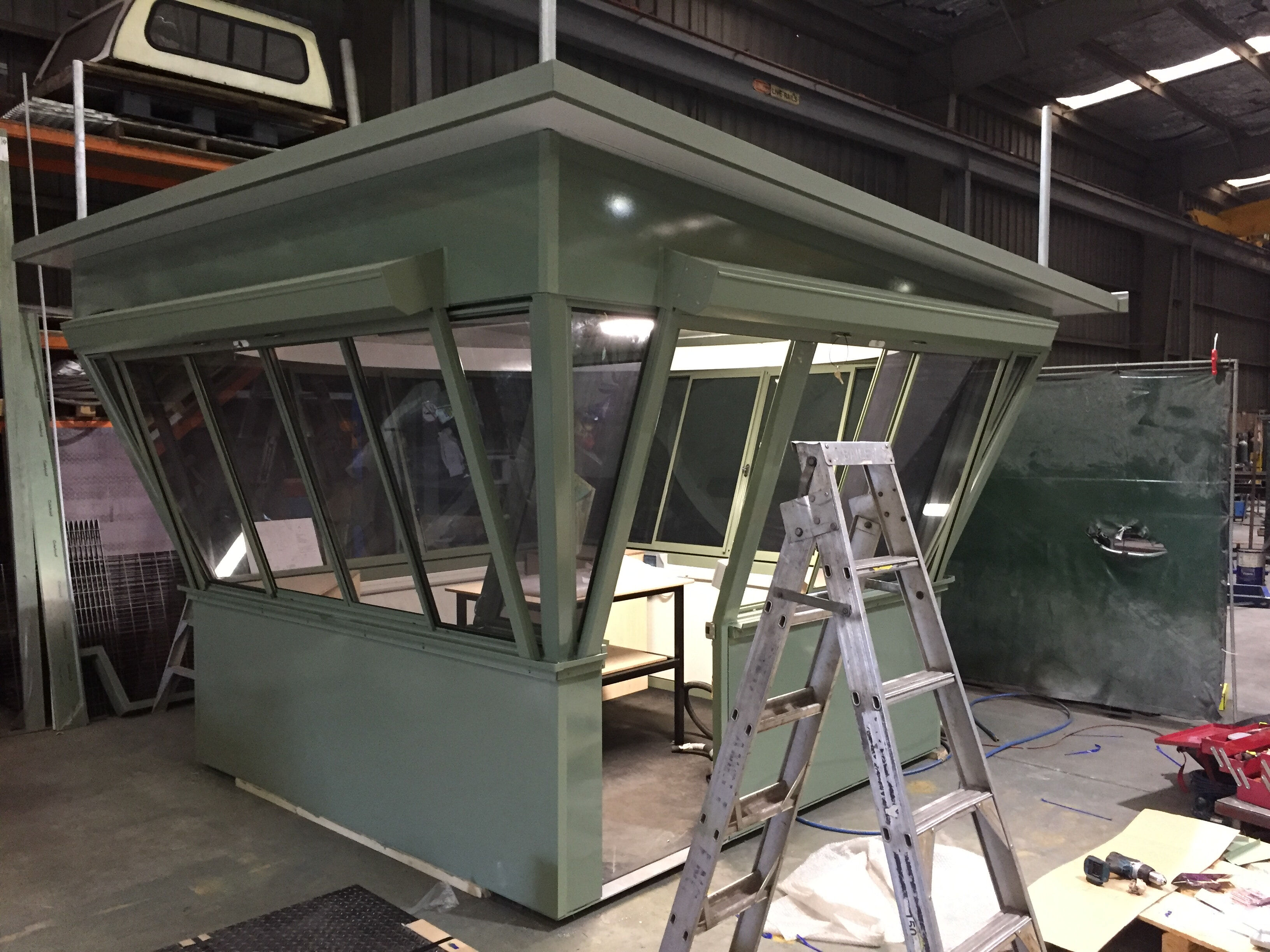 Mt Blackwarry Fire Tower Cabin Replacement for DELWP 5