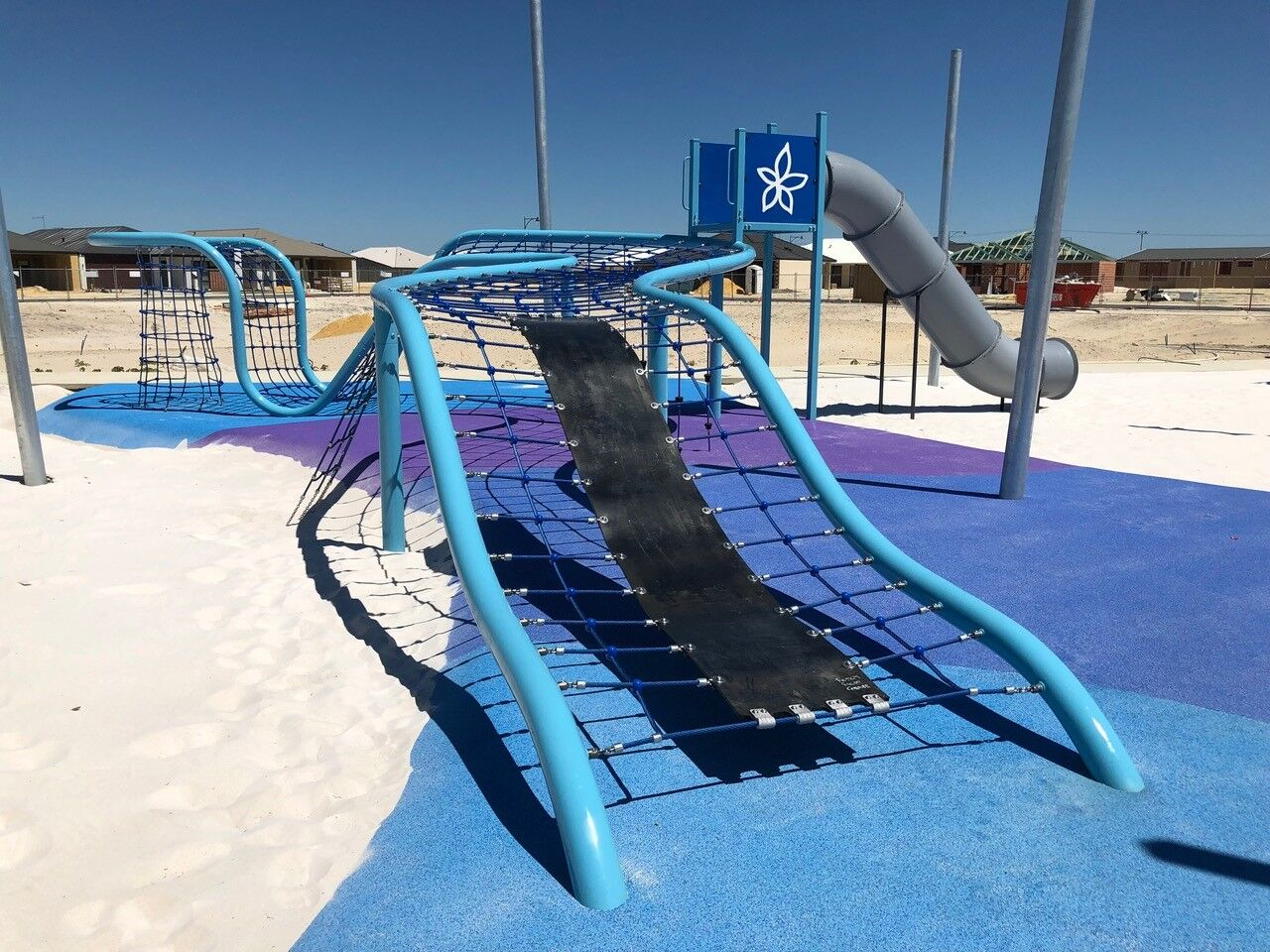 Playground Stainless Steel Slide Rope Structure