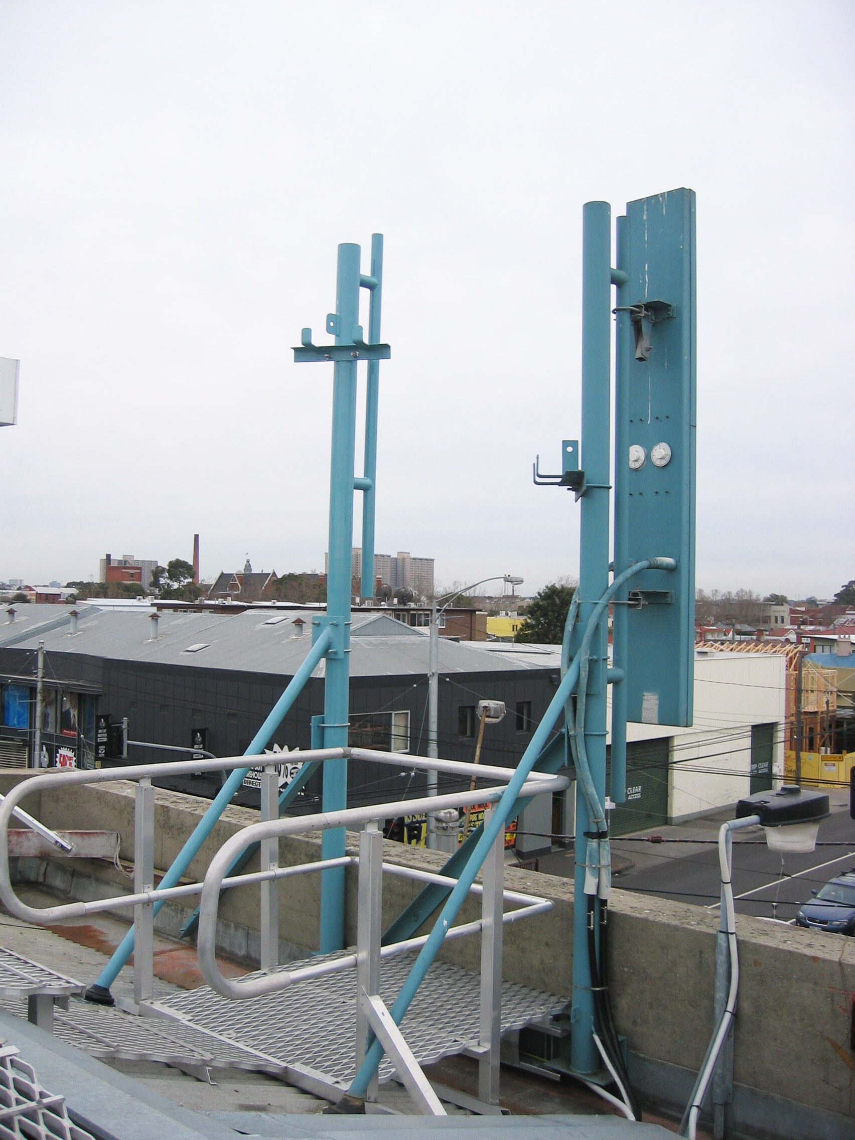 Telco Telecommunication roof Tower 4