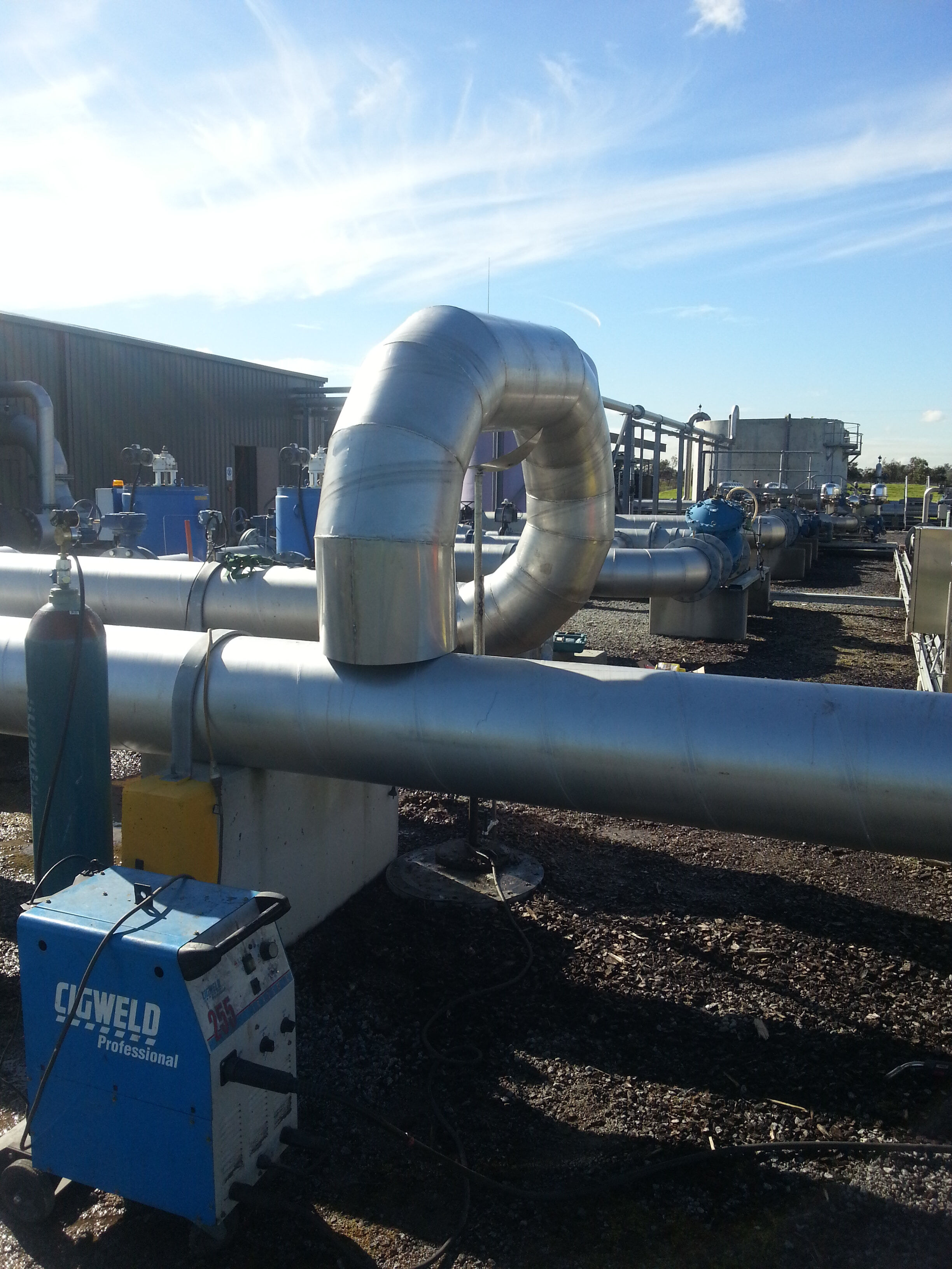 Food and Beverage Stainless Steel piping