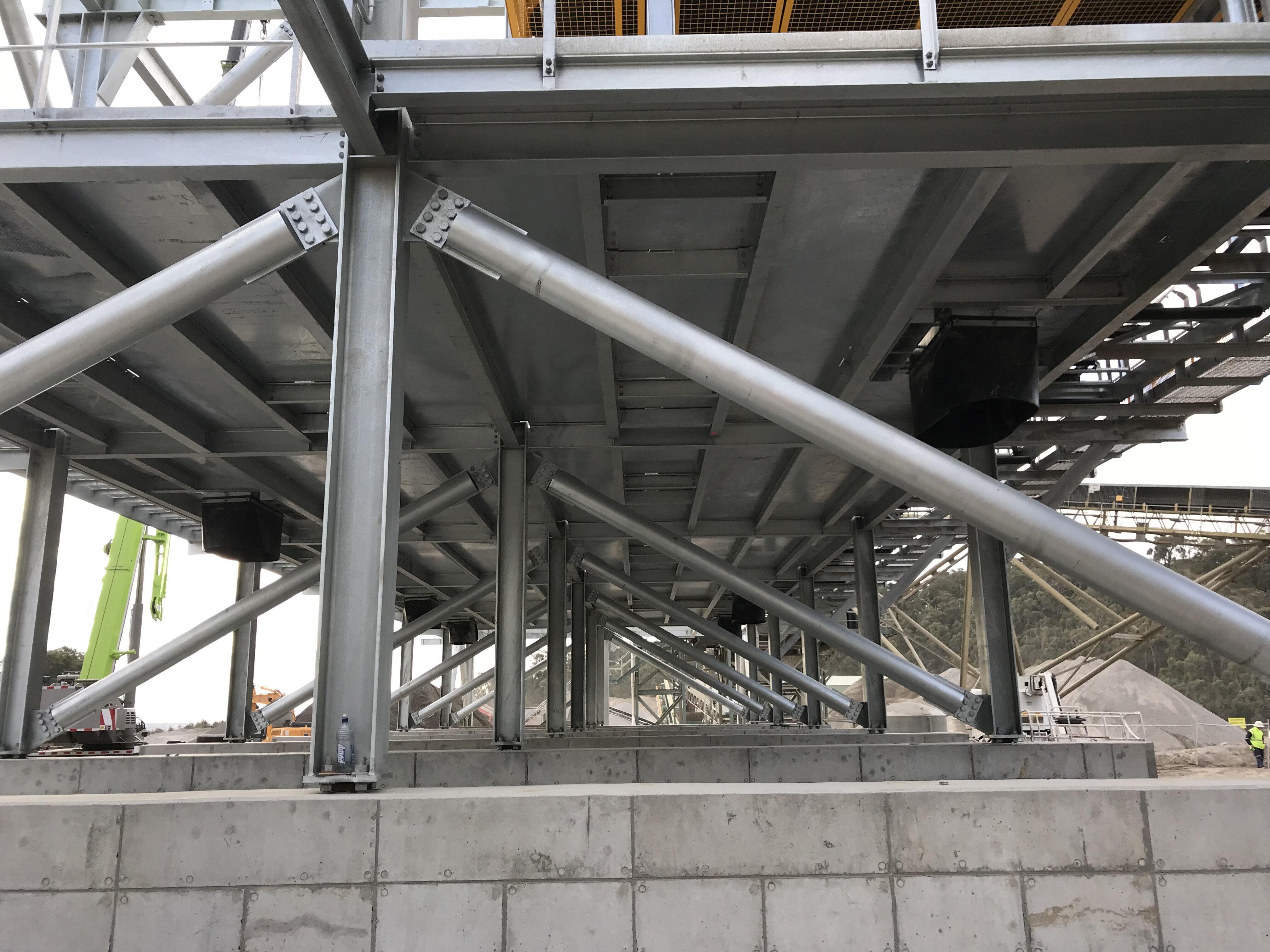General Fab Steel frame
