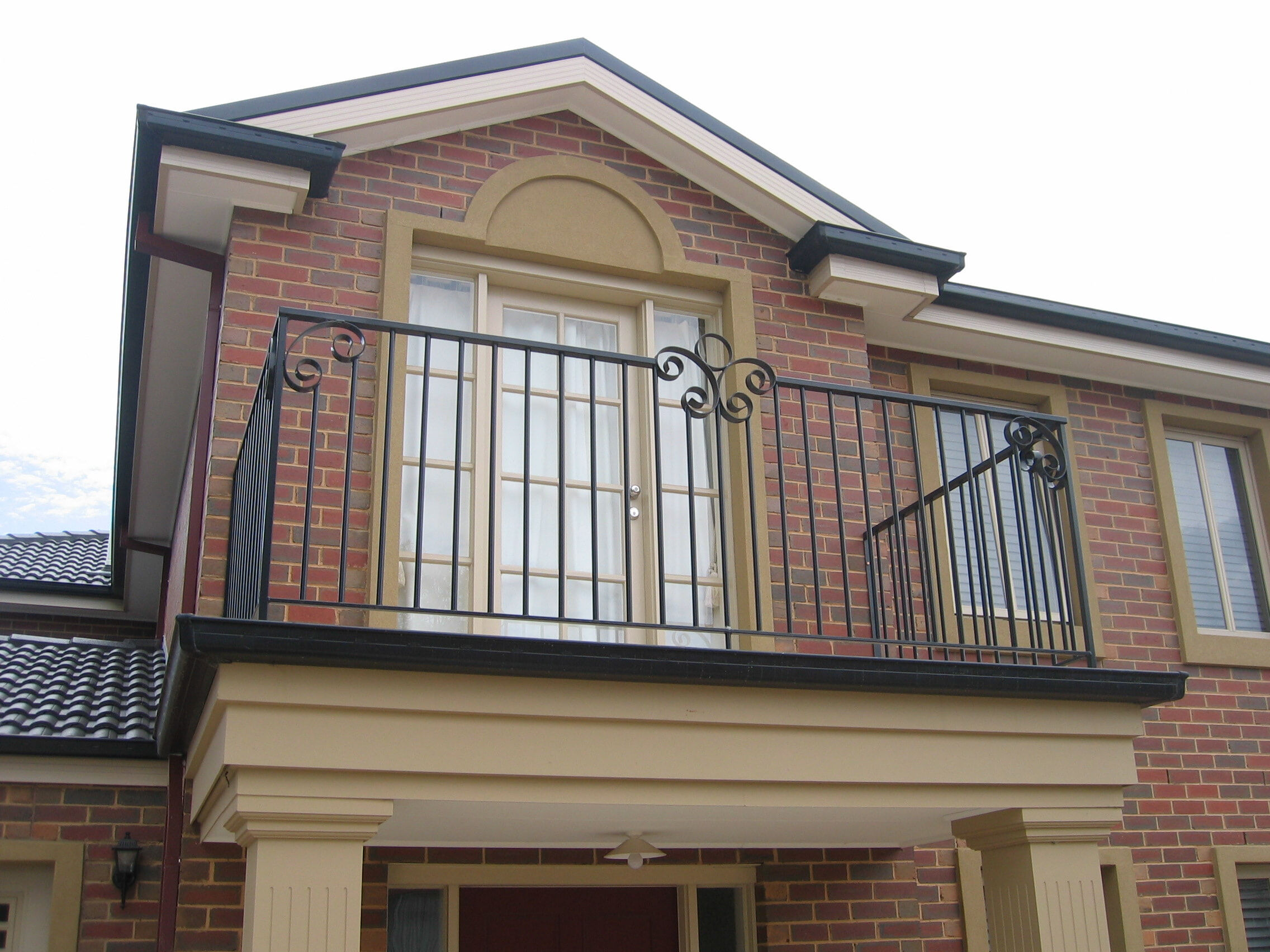 Feature scroll Balustrade