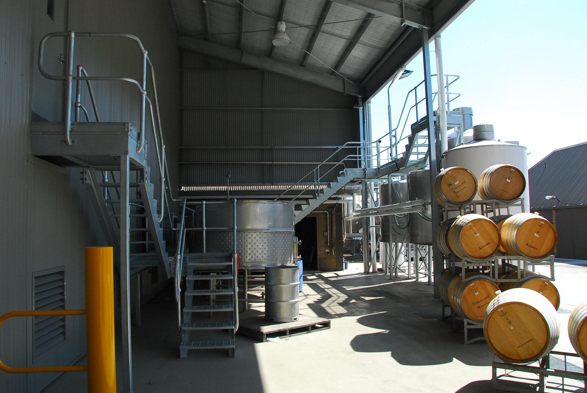 Winery fabrication