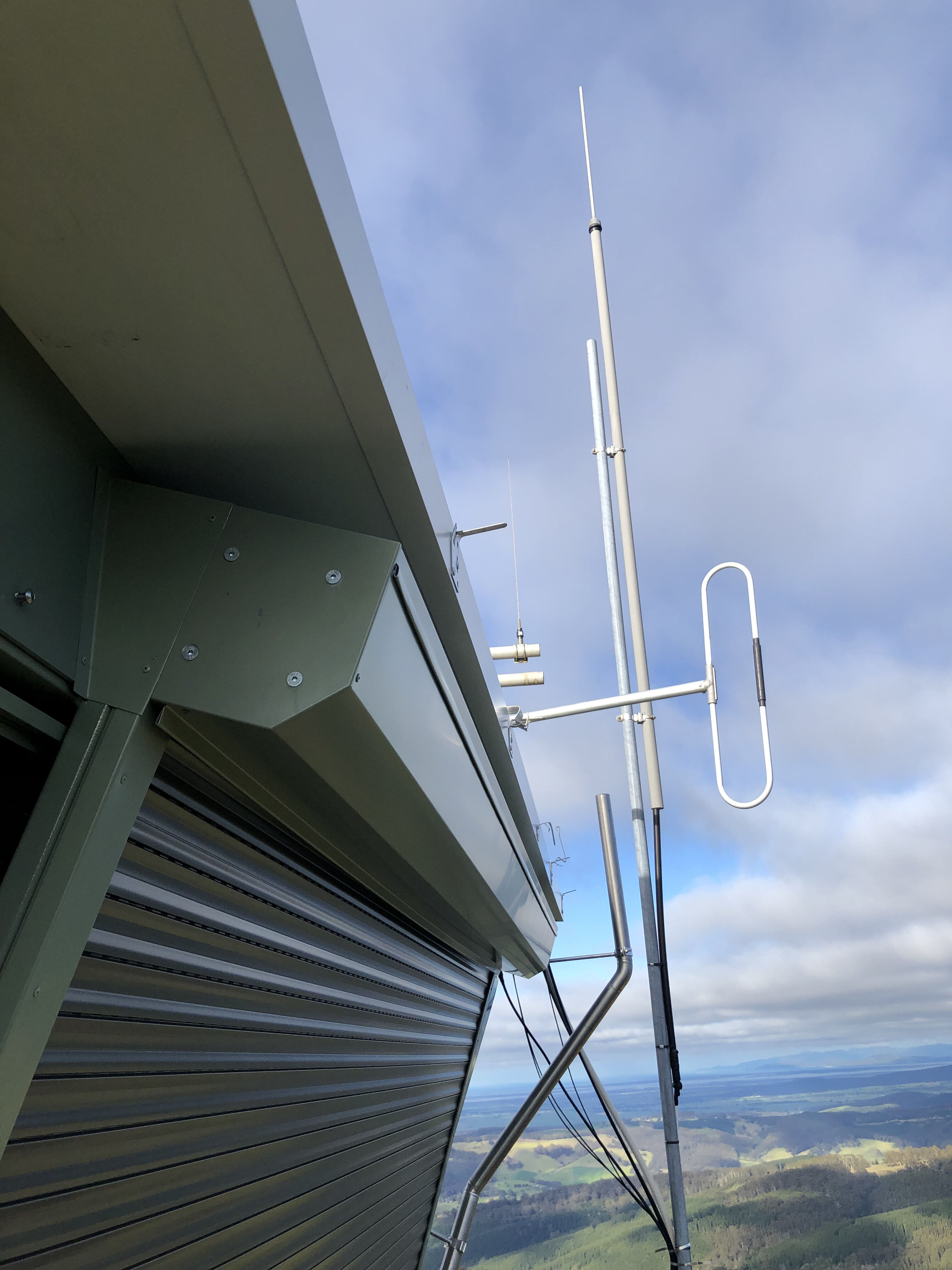 Mt Blackwarry Fire Tower Cabin Replacement for DELWP 6