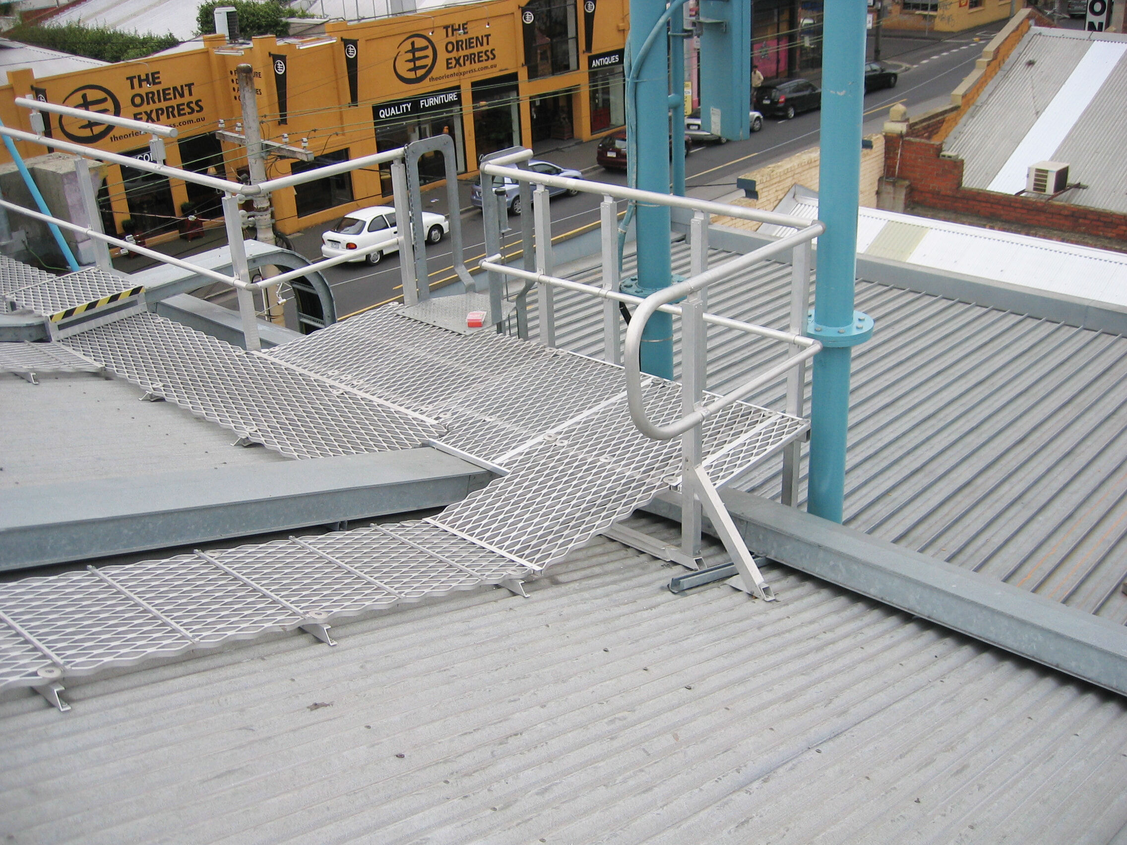 Roof Access Ramp and Platform