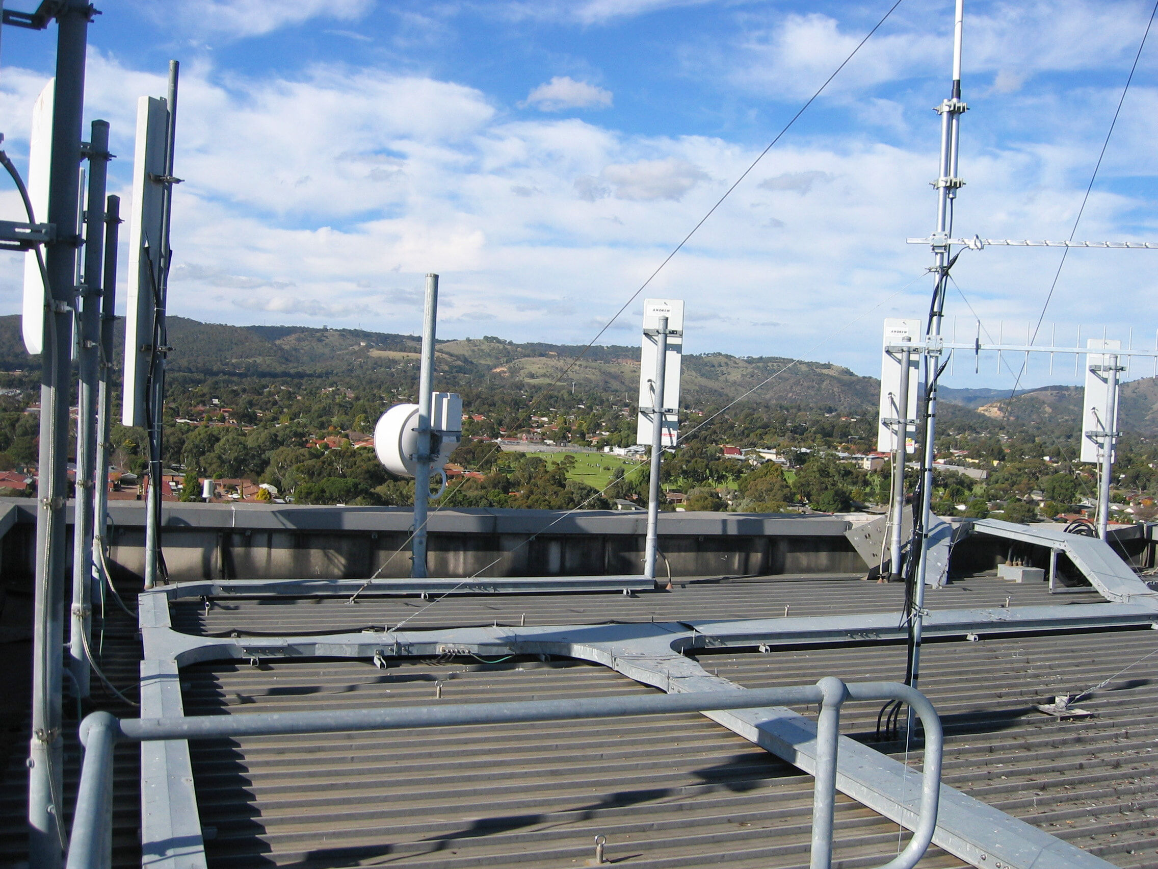 Telco Telecommunication Hospital roof Towers