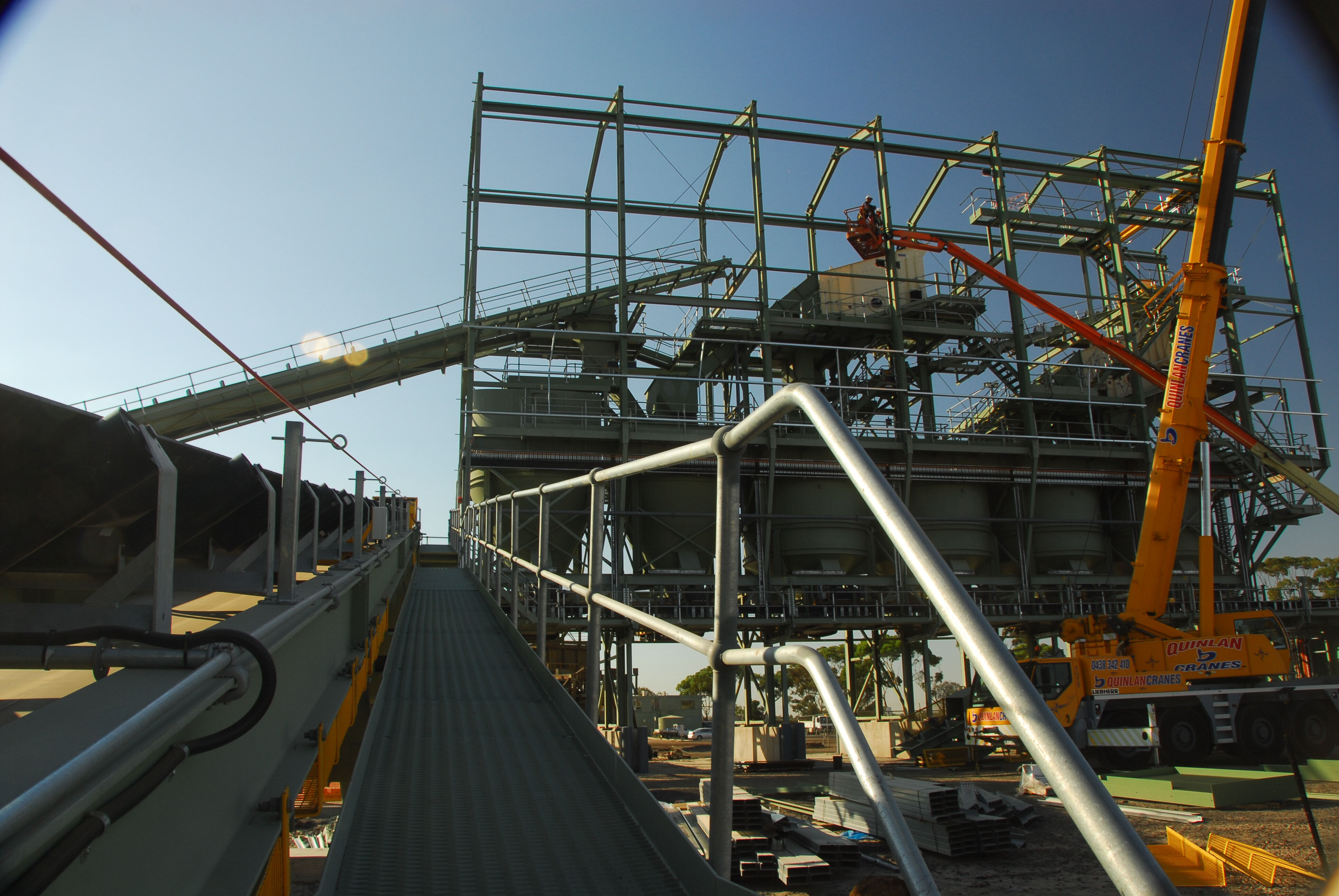 Mining - Structural Steel Fabrication