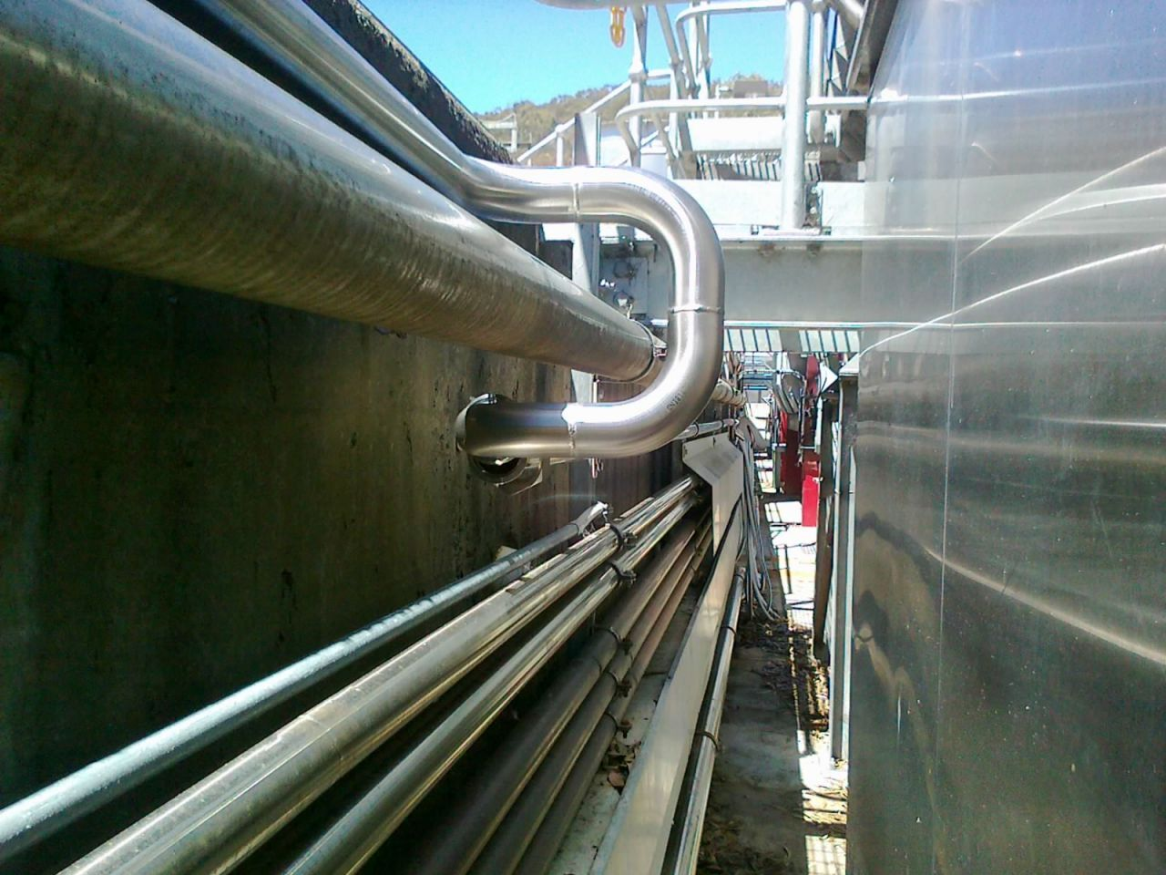 Food and Beverage Stainless Steel pipes