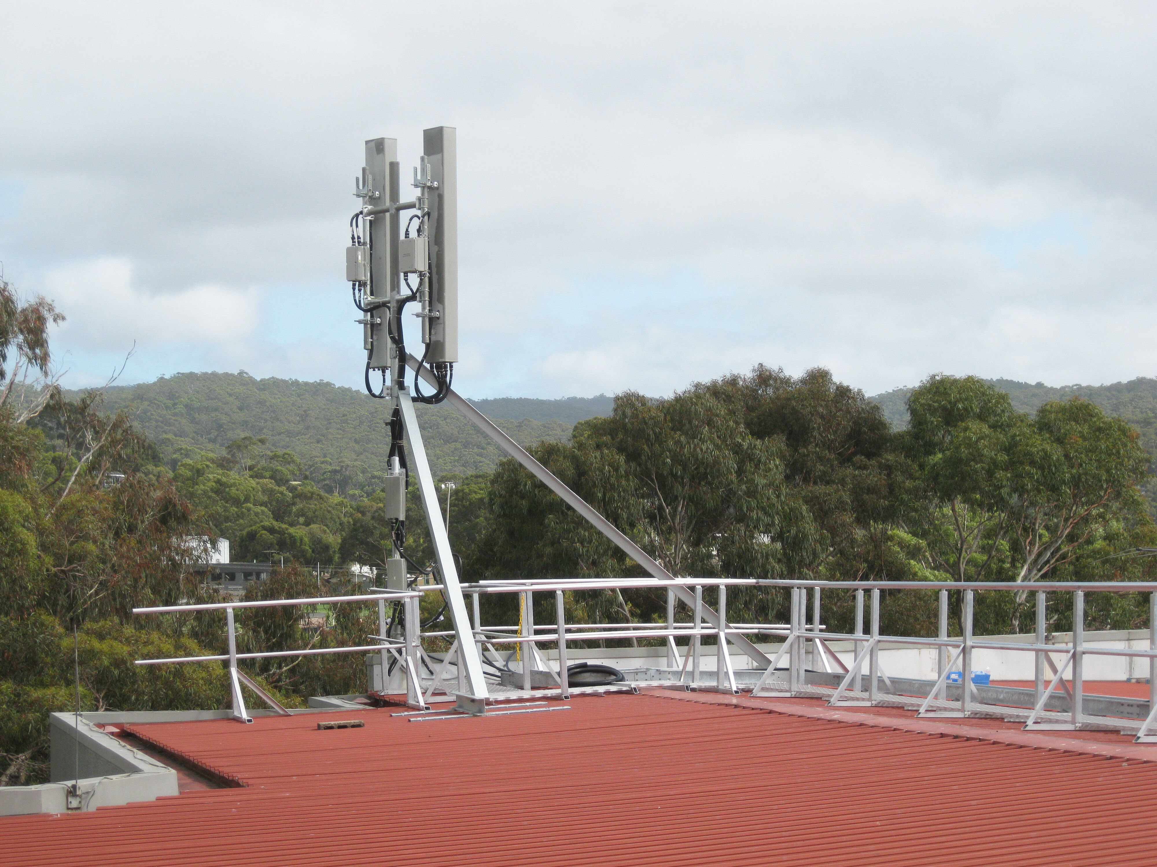 Telco Telecommunication Hospital roof Tower