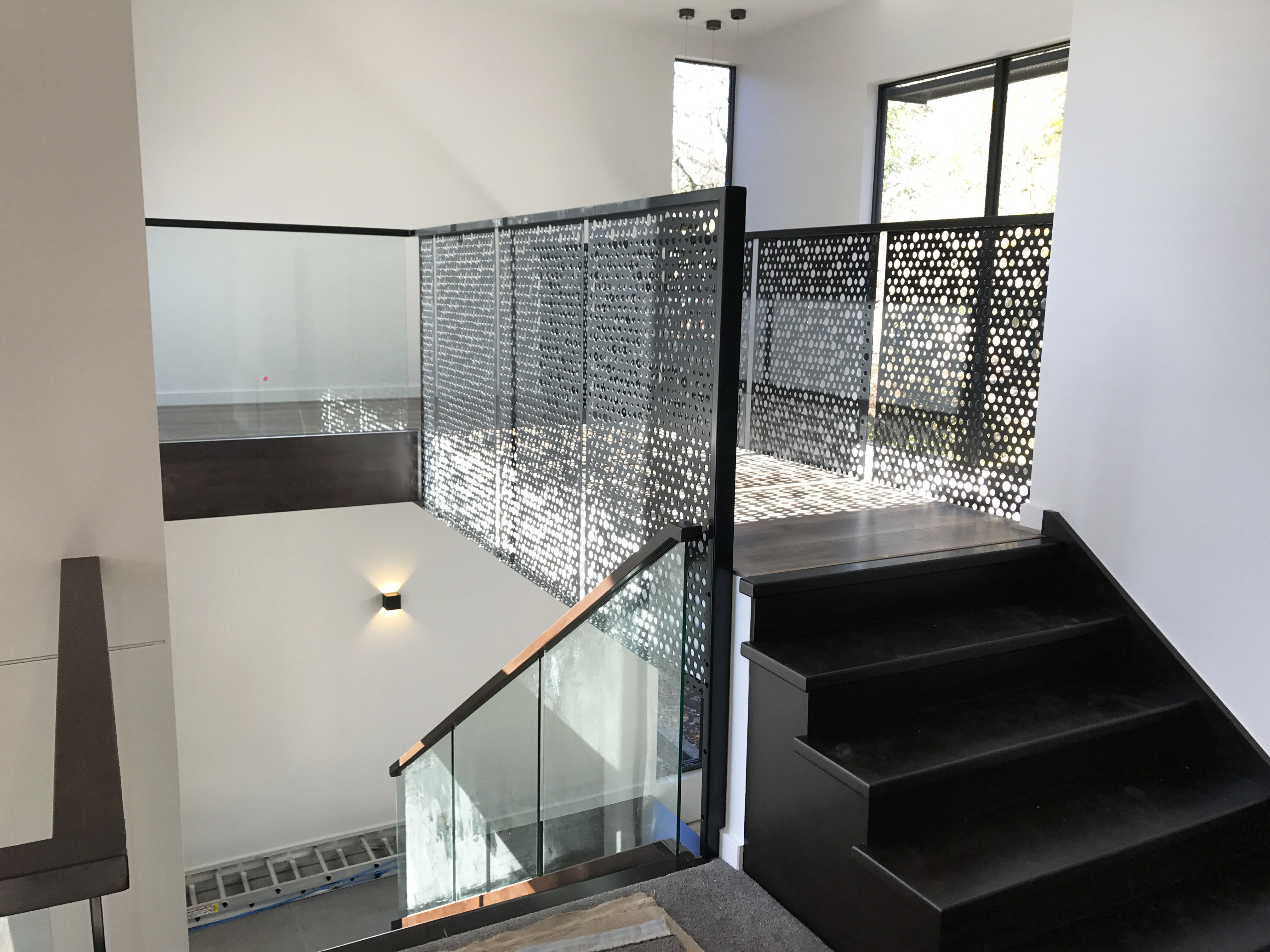 Access Staircase feature work