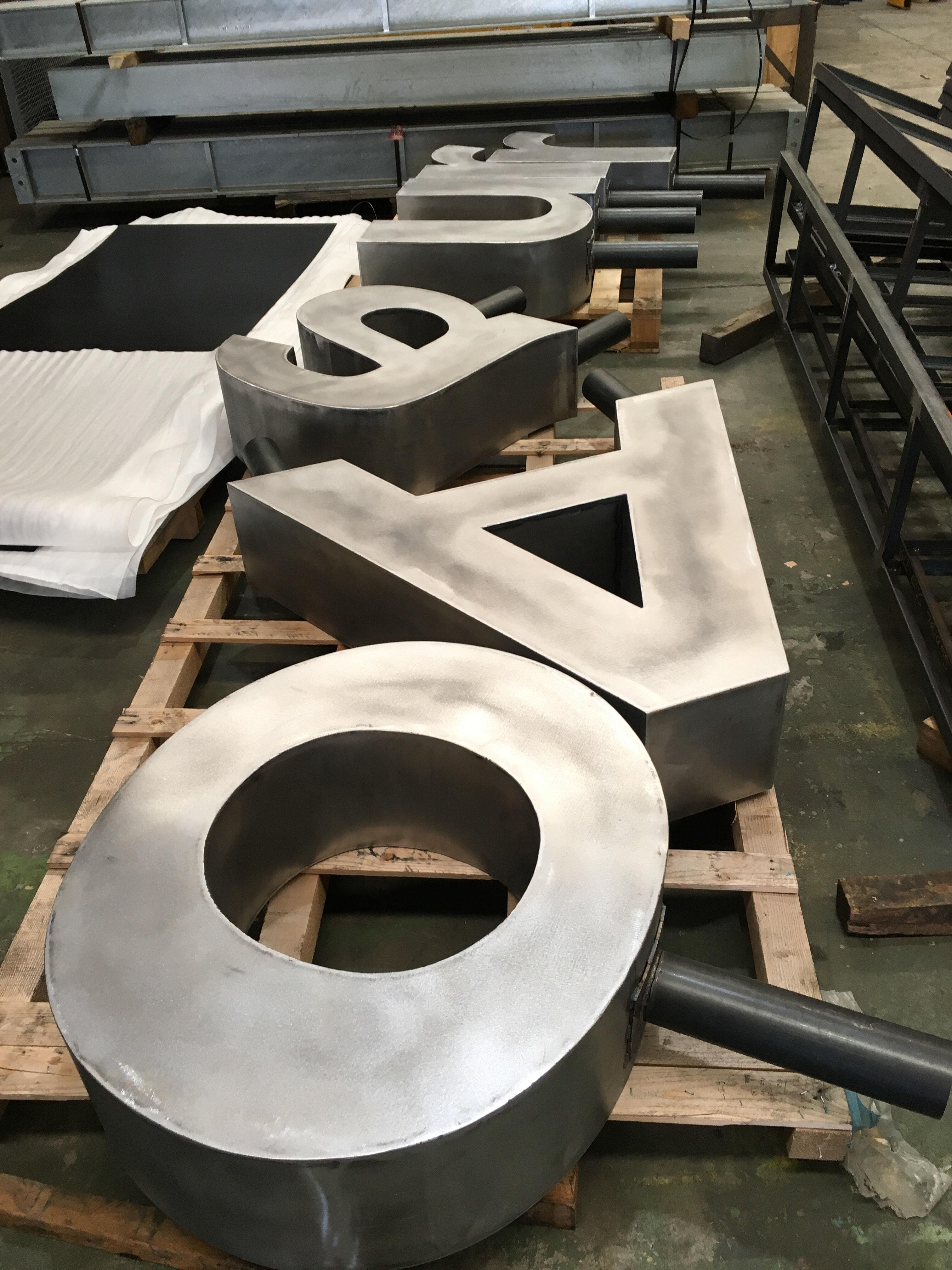 Stainless Steel Alphabet lettering