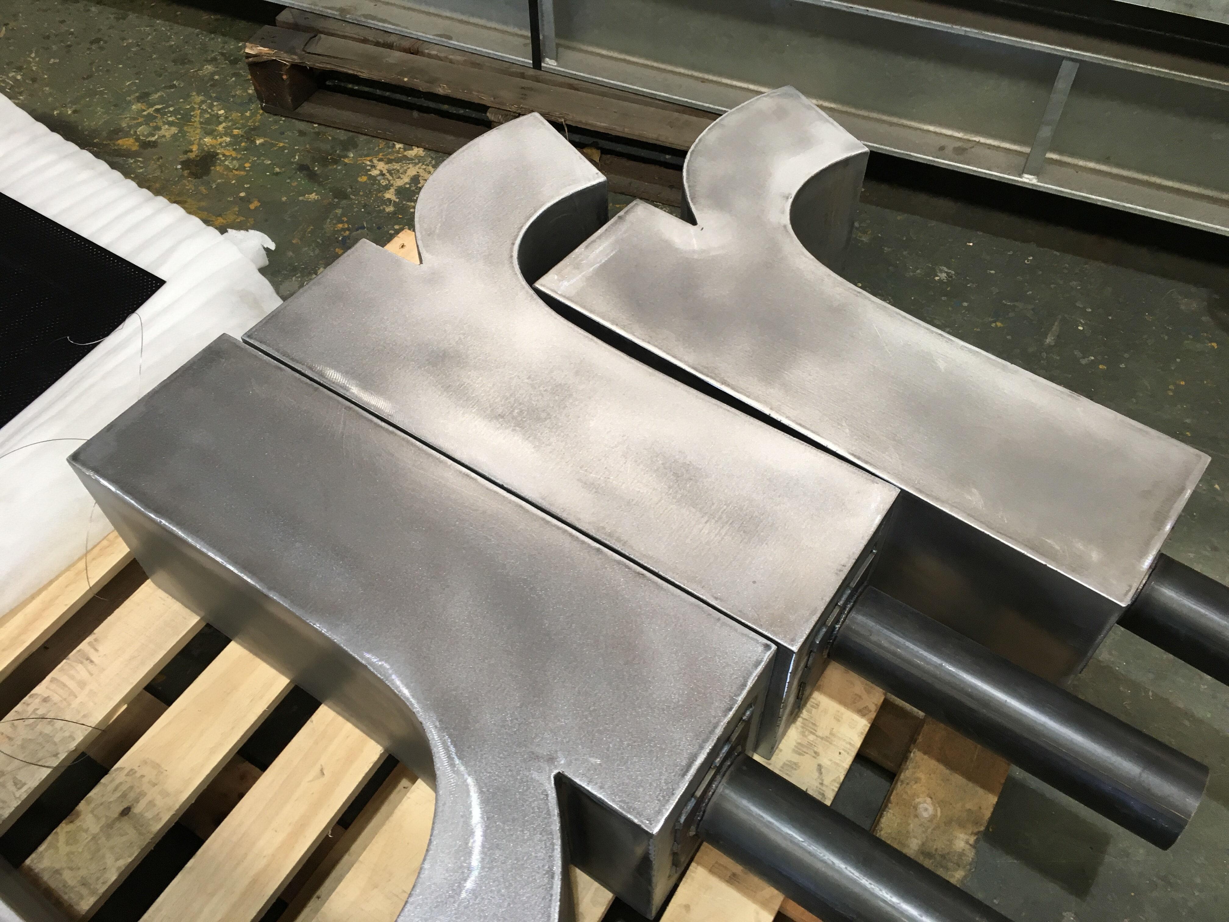 Steel Alphabet
