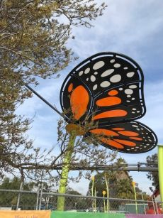 Bendigo Butterfly Playground Feature and Sun shades