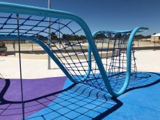 Playground Rope Structure