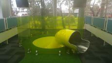 Playground Indoor Stainless Steel Slide